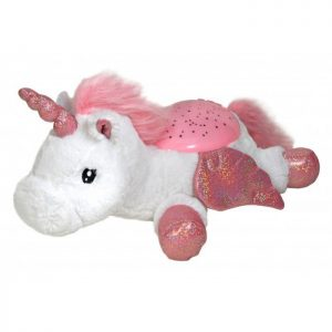 Twilight Buddies Unicorn natlampe og bamse fra Cloud B