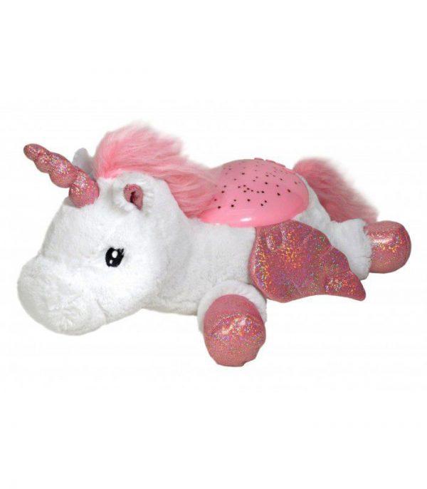Twilight Buddies Unicorn natlampe og bamse fra Cloud B