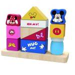 TY009 Mickye block wooden block
