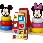 TY022 Wooden Balance stacker Minnie og Mickey Mouse