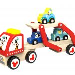TY034 Wooden Car Transport