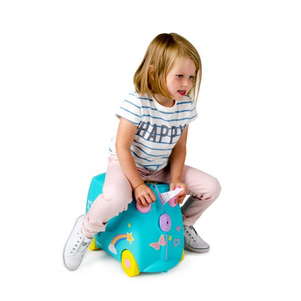 Trunli kuffert Una barn kører