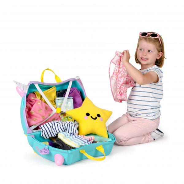 Trunki kuffert Una åben barn