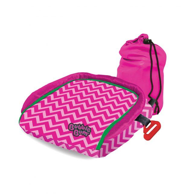 BubbleBum med taske pink