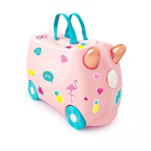 trunki kuffert flamingo