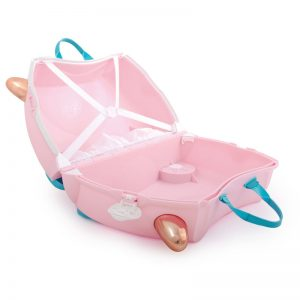 trunki kuffret flamingo åben