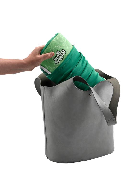 BubbleBum grøn i taske